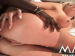 German housewife anal fucked by big black cock