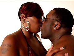 A big black couple
