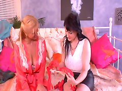 Allie Cat And Veronica Gold Take Care Of Kamil's  Cock (1)