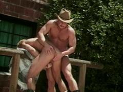 Two wild cowboys