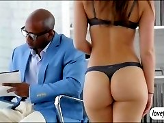 Remy LaCroix ass banged by black schlong