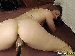 First time fuck machine for redhead