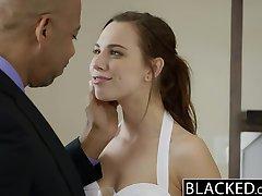 BLACKED Aidra Fox Takes a Monster Black Cock