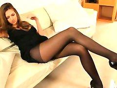 pleasing schoolgirl teasing for a cam