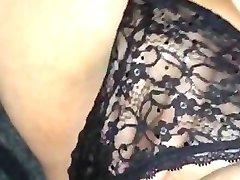 My hand in my panties
