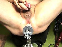 Cumming from machine