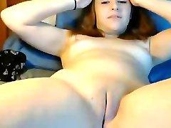 Lovely Teen Stripping & Fingering