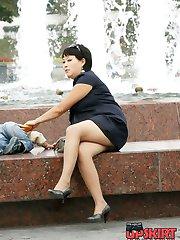 Fantastic girlfriend upskirt pics
