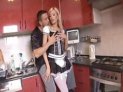 Naughty Blonde Maid Anal