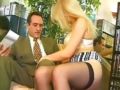 Blond french and boss