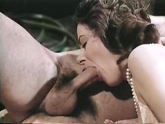 Veronica Hart, Lisa De Leeuw, John Alderman in classic porn video