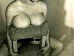 Big vintage breasts exposed