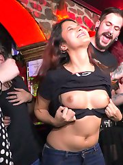 Part 1 - Spanish Slut Fucked OutdoorsFrida Sante is a gorgeous Spanish slut who loves to take it...