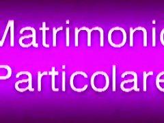 Matrimonio Particolare