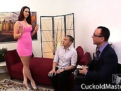 Dirty europe mother humiliate her asshole husband