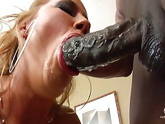 Inari Vachs gets very sloppy with cock