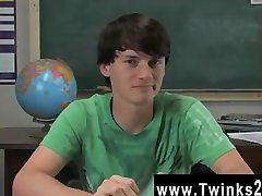 Twinks XXX Jeremy Sommers is seated at a desk and an interview is being