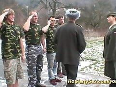 military fuck orgy