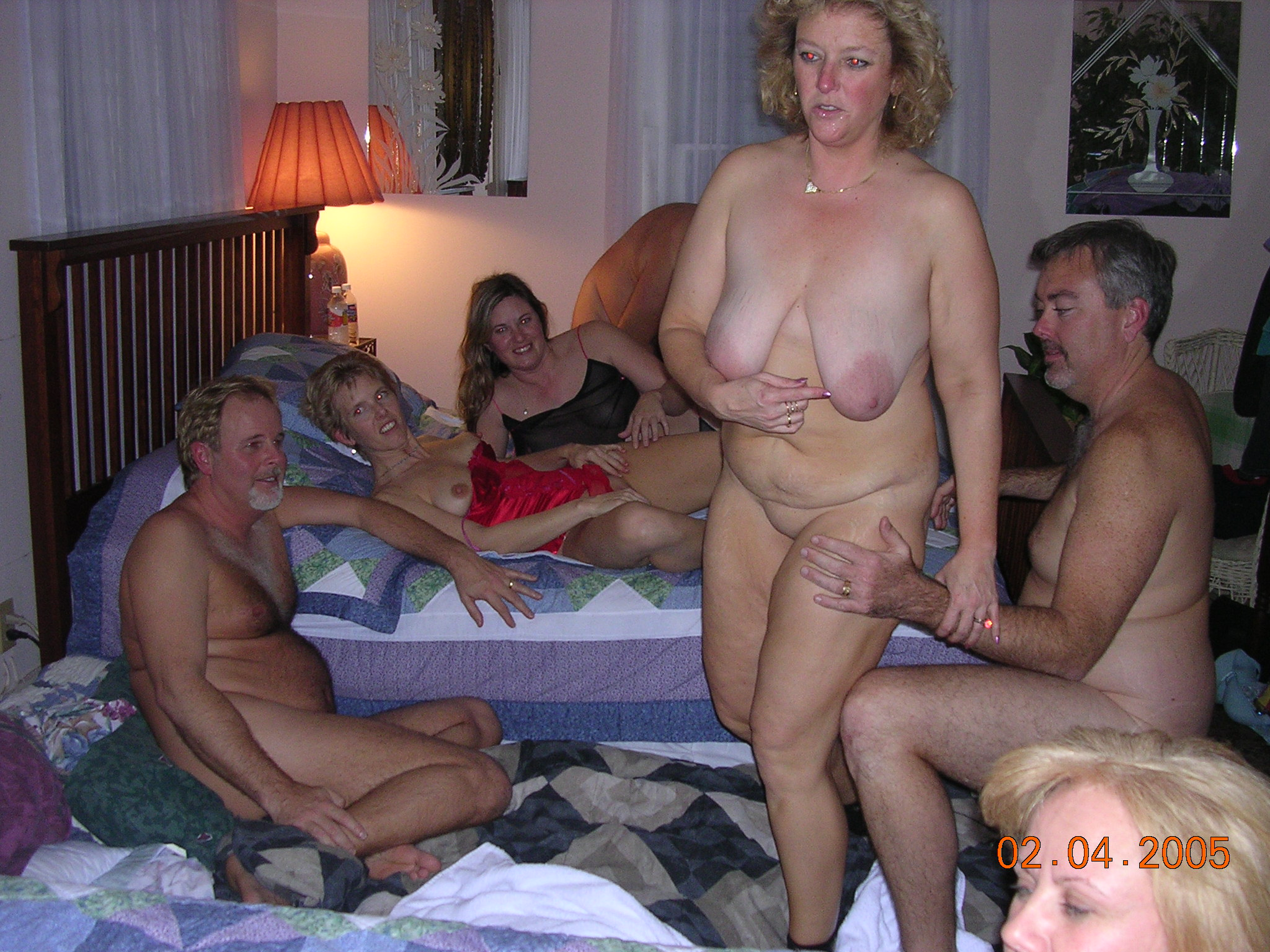 Real Life Swinger Party