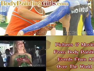 Body Painting Girls