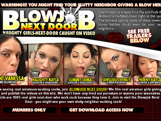 Blowjob Nextdoor
