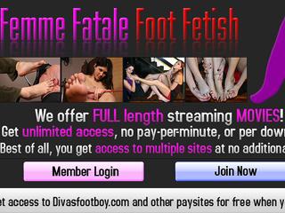 Femme Fatale Foot Fetish