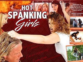 Hot Spanking Girls