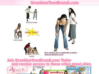 Spanking Teen Brandi