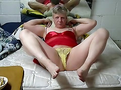 red teddy yellow panties