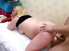 Cute Hot Fat Chubby Teen getting wet creamy pussy licked-1
