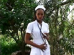Diamond Rene - Hot Ebony Nurse