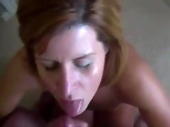 Amateur Milf Sucks Guy And Gets Facialized