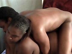 Black bbw getting anal