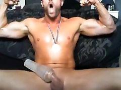 Str8 men banging the pocket pussy