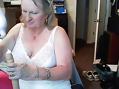 Terri with tampons and pads in panties