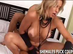 You have got to try her big tranny cock