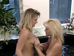 Vintage Blonde Has Sex After Shower