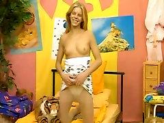 Vintage German Blonde Masturbate