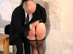Short spanking for a mature lady