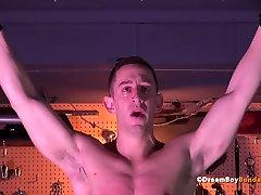 Bryan Cole BDSM Dildo Fuck Electrocution Crucifixion Muscle