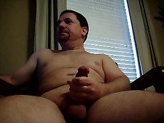 daddy bear jerking and cumming 3