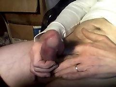 Solo male rock hard Juicy cock jack off cumshot