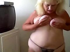 Sexy granny dancing
