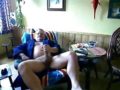 daddy bear jerking and cumming 5