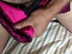New satin panties
