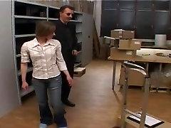 teen spanked