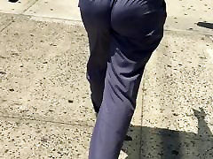 sexy ass walk without panty