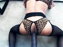 Little tranny big booty hungry for black