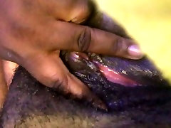 Fat Black Pussy Juicy Cum and Contraction