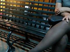 Nylons Sexys Piernas China Ricura